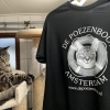 Our Black Catboat Logo T-shirt